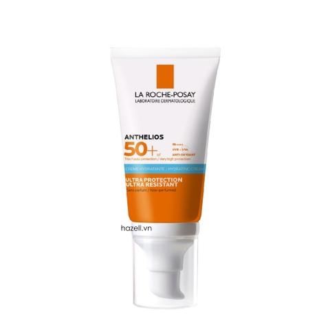 Kem chống nắng LA ROCHE-POSAY Anthelios Hydrating Cream SPF50 + / UVA-PF 35 - 50ml (Tuýp Xanh Dương)