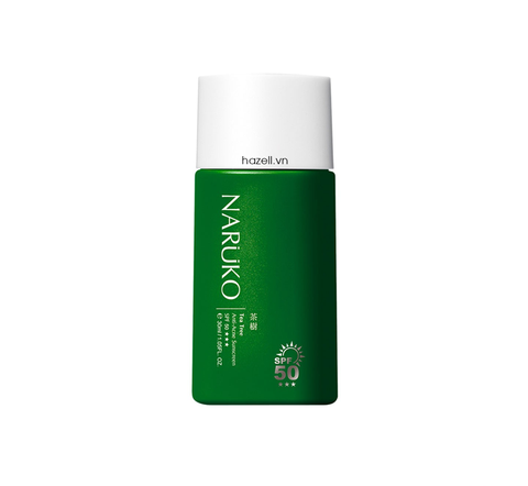 Kem chống nắng Naruko Tea Tree Anti-Acne Sunscreen SPF50+++ - 30ml