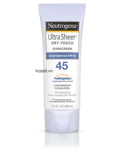 Kem chống nắng Neutrogena Ultra Sheer Dry-Touch Sunscreen Spf 45+ ( 88ml )