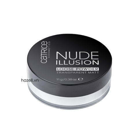 Phấn bột Catrice Nude Illusion Loose Powder Transparent Matt