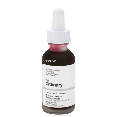 Peel da sinh học The Ordinary AHA 30% + BHA 2% Peeling Solution