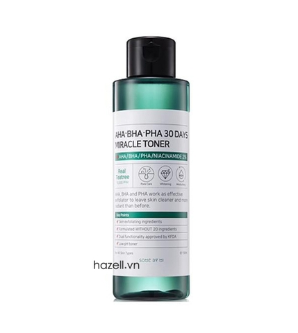 Nước hoa hồng SOME BY MI AHA-BHA-PHA 30 Days Miracle Toner - 150ml