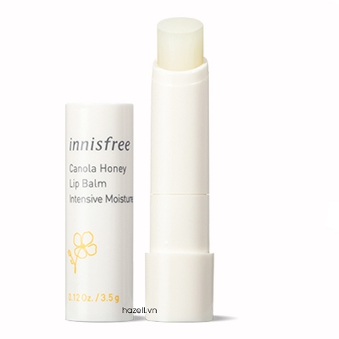 Dưỡng môi Innisfree Canola Honey Lip Balm Intensive Moisture - 3.5g