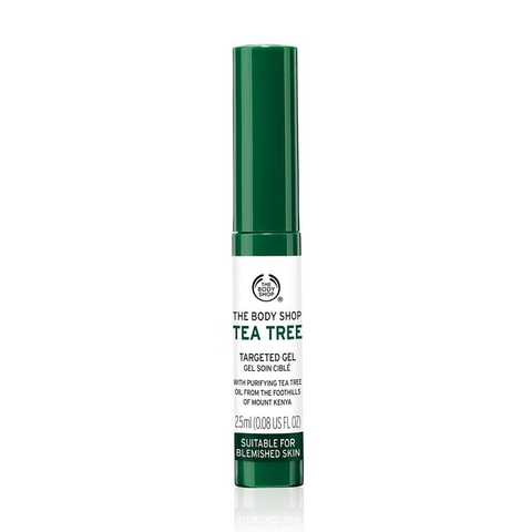 Gel Trị Mụn và Thâm The Body Shop Tea Tree Targeted Gel - 2.5ml