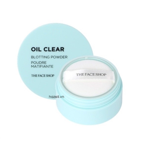 Phấn phủ bột kiềm dầu The Face Shop Oil Clear Blotting Powder - 6g