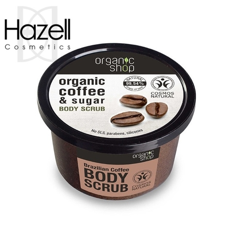Tẩy da chết Organic Shop Coffe & Sugar Body Scrub 250ml