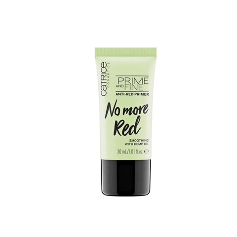 Kem lót Catrice Prime and Fine No More Red 30ml (Vỏ xanh)