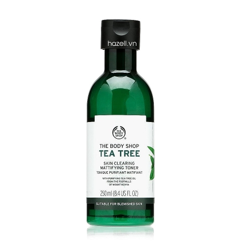 Toner Tea Tree The Body Shop Skin Clearing Mattifying Toner 250ml