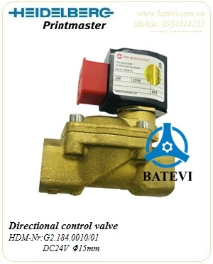 Directional control valve G2.184.0010/01