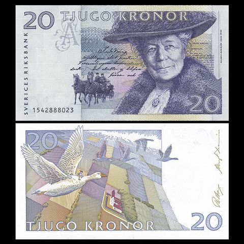 Sweden (Thụy Điển) 20 kronor 1997