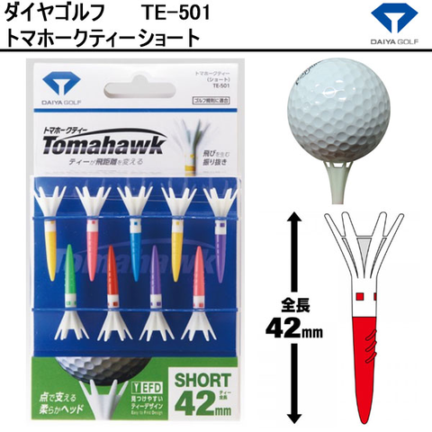 Tee tomahawk short 42mm TE-501