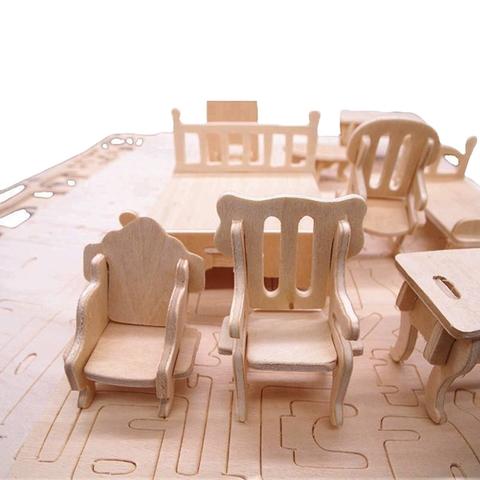 Các mô hình ấn tượng trong Đồ chơi ghép hình 3D bằng gỗ 184 chi tiết sáng tạo