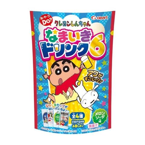 Đồ chơi Nhật Bản ăn được Bia shin - Hình ảnh vỏ hộp