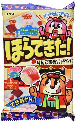 Đồ chơi Nhật Bản Kẹo táo - Hình ảnh vỏ hộp