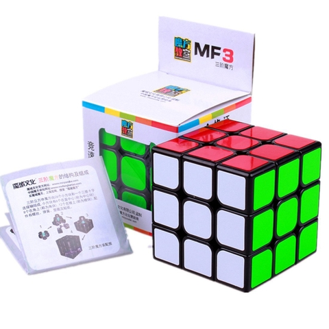 Đồ chơi Rubik MoYu MoFangJiaoShi 3x3 MF3 - Các mô hình ấn tượng