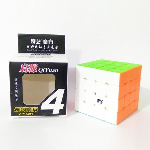 Đồ chơi Rubik QiYi QiYuan S 4x4x4 stickerless - Thiết kế ấn tượng