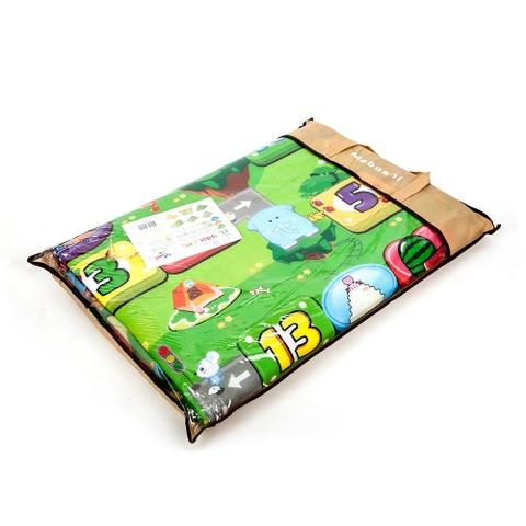 Hình ảnh vỏ hộp bộ Thảm chơi 2 mặt cỡ lớn chống thấm cho bé 1m8 x 2m - Maboshi