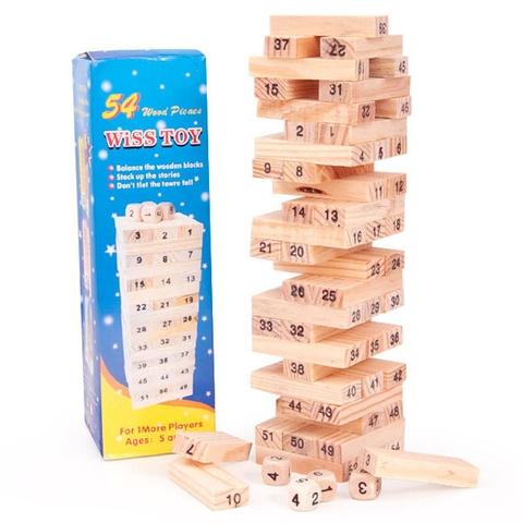 Trò chơi rút gỗ 54 thanh chất lượng ấn tượng