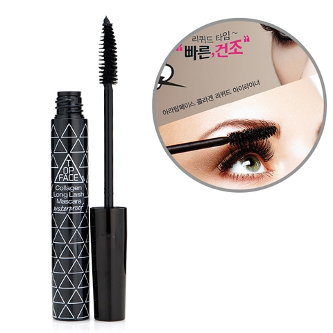 Mascara không trôi ARRA TOPFACE Collagen Long Lask Mascara Waterproof 10ml