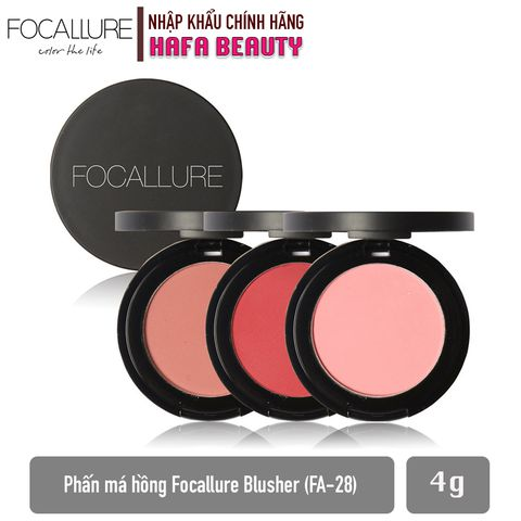 Phấn Má Hồng Focallure Blusher Multi-Use Refill Pan FA-28 (4g)