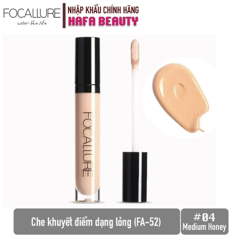 Che khuyết điểm dạng lỏng Focallure Full Coverage Liquid Concealer FA-52