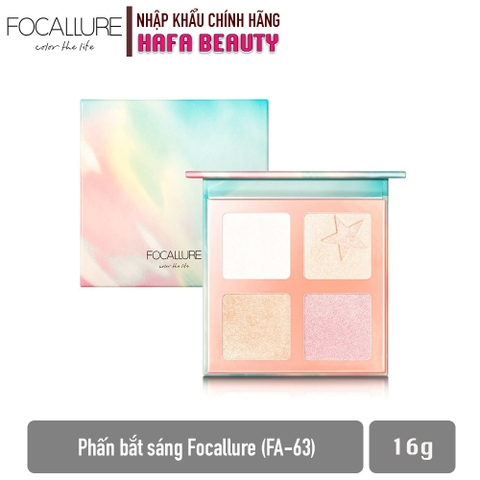 Phấn Bắt Sáng Focallure Super Star Highlight Palette FA-63 16g