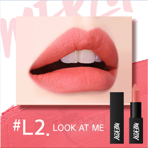 Son Thỏi Lì Merzy Another Me The First Lipstick #L2 Look At Me (Cam san hô)