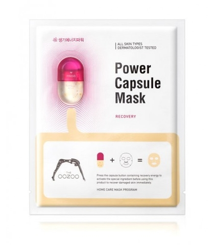Mặt nạ THE OOZOO Power Capsule Mask - Recovery 20ml