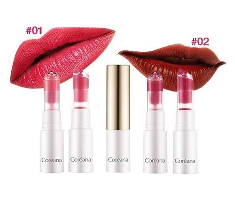 Son Thỏi Dạng Nước Coreana Essence Lip Collection 3.5g