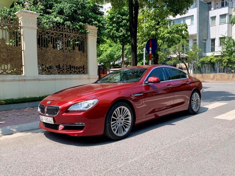 BMW 640i Grand Coupe 2015