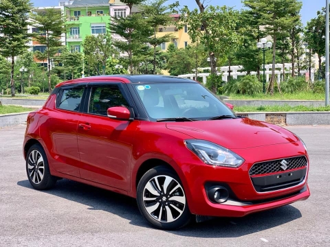 Suzuki Swift GLX 2019 đỏ
