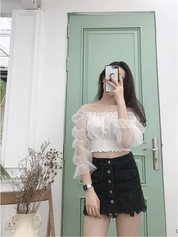ÁO CROP TOP A253