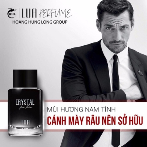 NƯỚC HOA LUA CRYTAL FOR HIM - 60ML