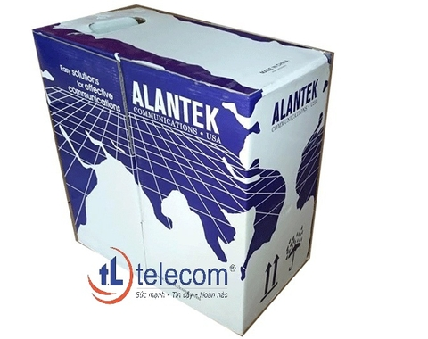 Cáp mạng Alantek Cat5e FTP 4-pair Part Number: 301-10F08E-03GY