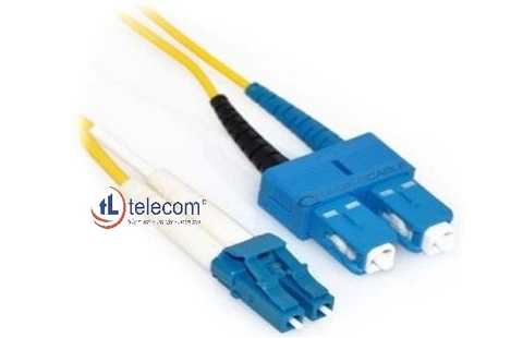 Patch Cord SC/LC Multimode 62.5/125um Alantek (3 mét) Part Number: 306-62027M-0030