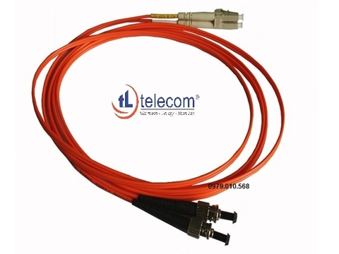 Patch Cord ST/LC Multimode 62.5/125um Alantek (3 mét) Part Number: 306-62017M-0030