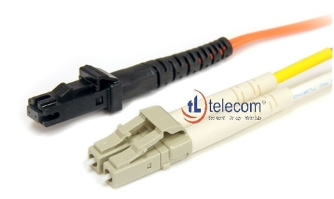 Patch Cord LC/MTRJ Multimode 62.5/125um Alantek (3 mét) Part Number: 306-62078M-0030