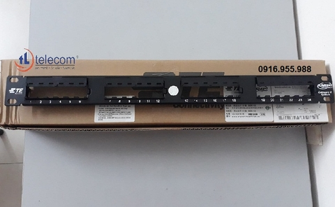 Patch Panel 24P AMP Cat6