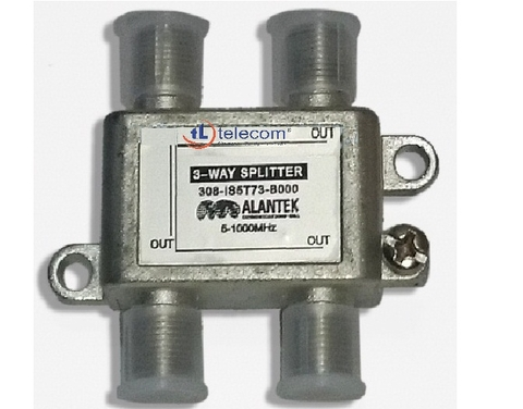 Splitter Indoor 3-way Alantek Part Number: 308-IS5T73-B000