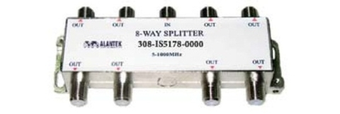 Alantek Splitter Indoor 8 way Part Number: 308-IS5178-0000