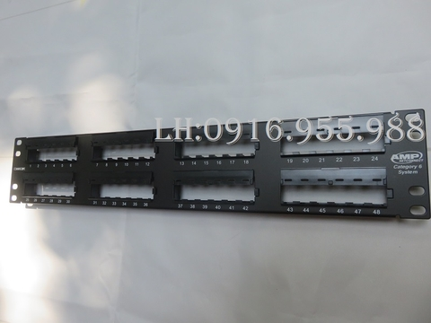 Patch Panel Cat6 48P