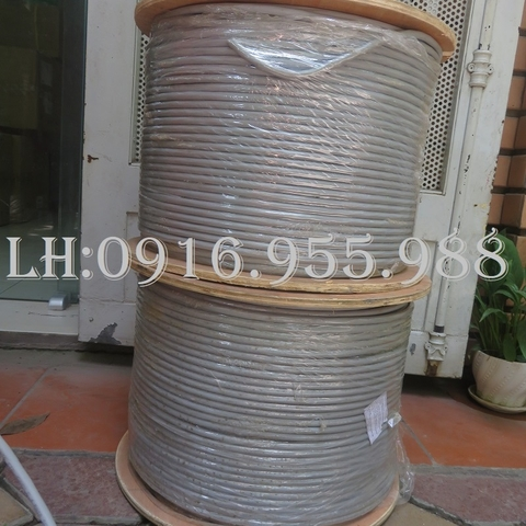 Cáp mạng Alantek Cat6A F/UTP LSZH (Grey) Part Number: 301-6AFU08-L5GY