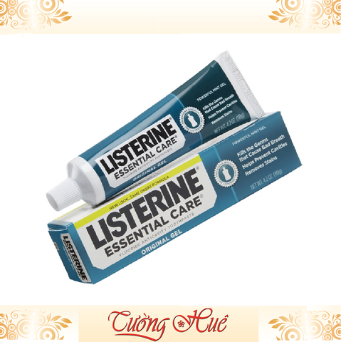Kem Đánh Răng Listerine Essential Care Original Gel - 119g.