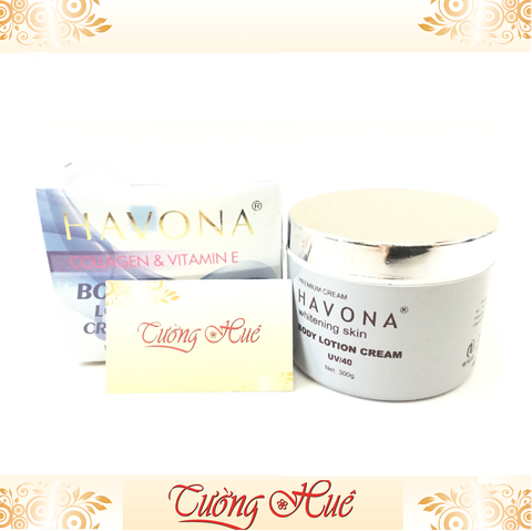 Kem Dưỡng Body Havona Collagen & Vitamin E Body Lotion Cream - 300g.