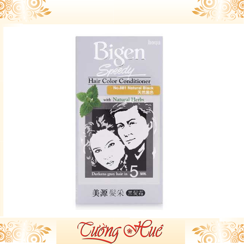 Thuốc Nhuộm Bigen Speedy Hair Conditioner with Natural Herbs.