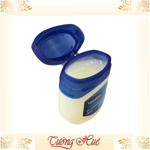 Sáp Vaseline 100% Pure Petroleum Jelly Original - Xanh.