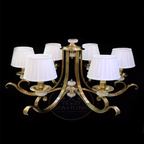 Đèn chùm đồng trang trí giá rẻ 026-6