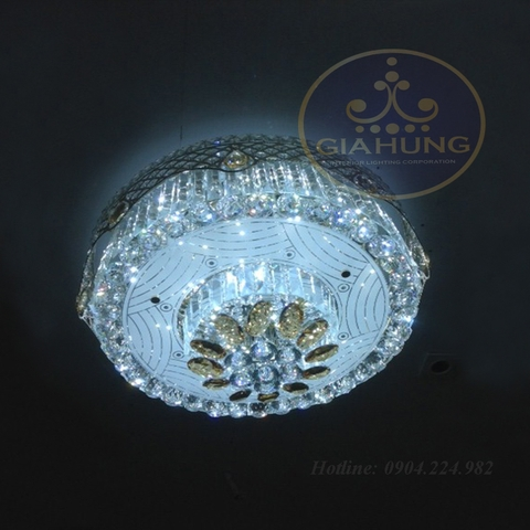 Đèn mâm Pha lê cao cấp 52066-600