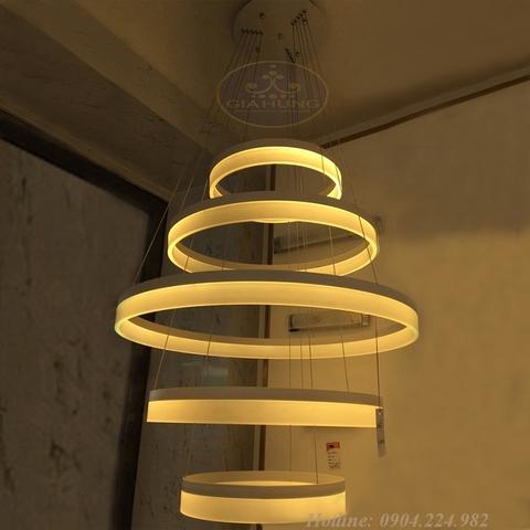 Đèn thả LED 7058/271 5 vòng
