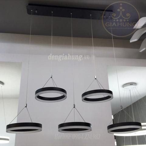 Đèn thả LED S000582 khối tròn